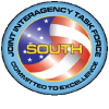 Logo: JOINT INTERAGENCY TASK FORCE SOUTH